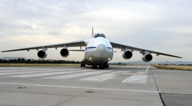 S-400 sevkiyatı kapsamında 14. uçak Mürtede indi