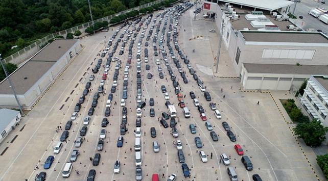 Gurbetçiler en çok Kapıkule Sınır Kapısı'nı kullanıyor