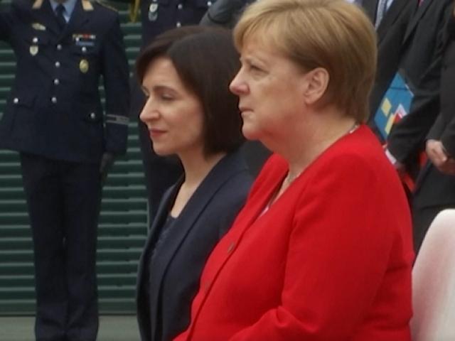 Merkel için alınan titreme nöbeti önlemi devam ediyor