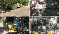 Pençe-2 Harekatı'nda tespit edilen silahlar imha edildi