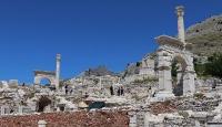 Sagalassos Antik Kenti'ne turist ilgisi