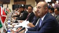 Bakan Çavuşoğlu: ABD ve İsrail'in Filistin davamızı rehin almasına izin vermemeliyiz