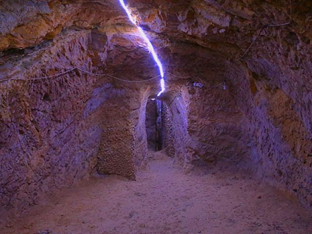 Aydıntepe'deki yer altı şehri tarihe ışık tutuyor