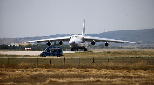 S-400 sevkiyatı kapsamında 15. uçak Mürtede indi