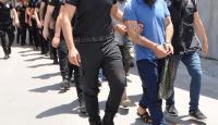 Terör örgütü DEAŞ adına haraç toplayan 12 zanlı tutuklandı