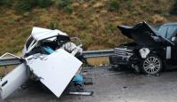 Isparta'da otomobil ile cip çarpıştı: 3 ölü 1 yaralı