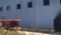 Eski ambalaj fabrikasında patlama