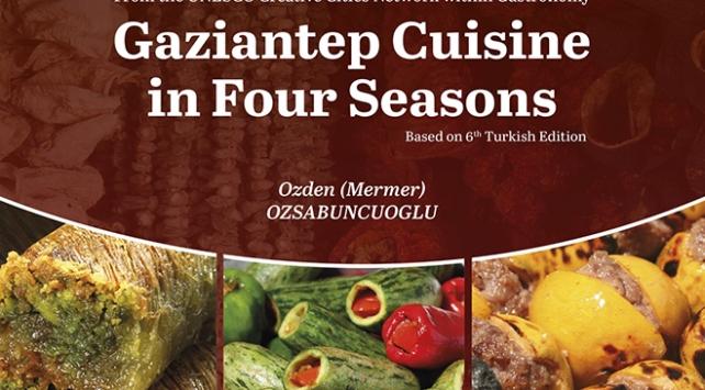 """""""Dört Mevsim Gaziantep Yemekleri"""" kitabı dünya ikincisi oldu"""