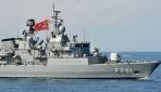 Türkiye Turgutreis fırkateyni ile NATO tatbikatında