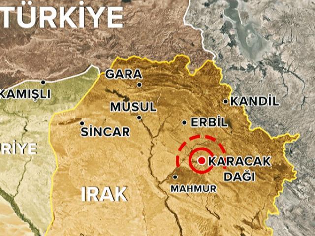 TSKnın vurduğu Karacak, örgütün Mahmur kampına çok yakın