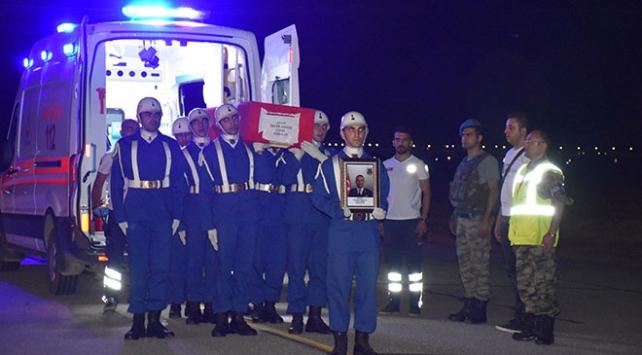 Şehit Binbaşı Akkuş için tören düzenlendi