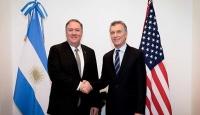 Arjantin Devlet Başkanı Macri, ABD Dışişleri Bakanı Pompeo'yu kabul etti