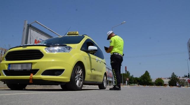 Emniyetten Türkiye genelinde taksi denetimi