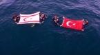"""Barış Harekatının 45. yılında batık uçak """"Gazi""""ye dalış yaptılar"""