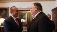 Bakan Çavuşoğlu ABD'li mevkidaşıyla görüştü
