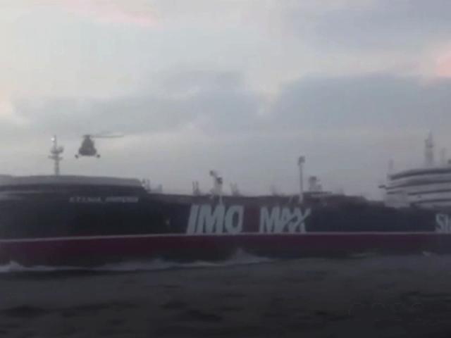 İran, İngiltere'ye ait tankere müdahale anının görüntülerini yayımladı