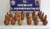 Uşak'ta tarihi eser operasyonu: 3 gözaltı