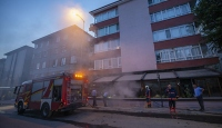 Ankara'da restoran yangını