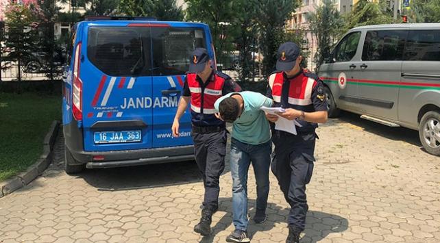 Okul inşaatından 300 bin TLlik demir çalan kişi tutuklandı