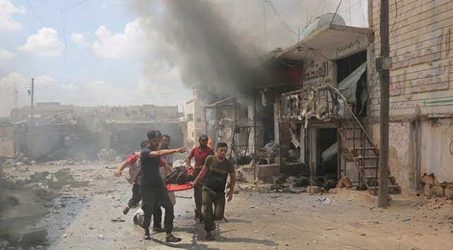 İdlib Gerginliği Azaltma Bölgesine şiddetli hava saldırıları: 17 sivil öldü