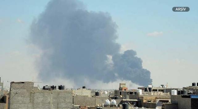 Libyada UMHden Hafter güçlerine hava saldırısı