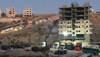 İsrail Doğu Kudüs'te Filistinlilere ait 16 binayı yıkıyor