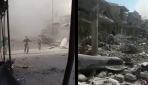 İdlibe hava saldırısı: 17 sivil hayatını kaybetti