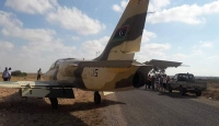 Hafter'e bağlı savaş uçağı Tunus'a zorunlu iniş yaptı