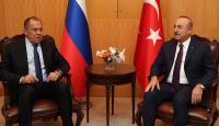 Dışişleri Bakanı Çavuşoğlu, Rus mevkidaşı Lavrov ile İdlib'i görüştü