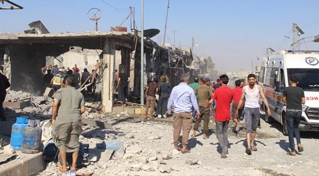 İdlibe hava saldırılarında ölen sivillerin sayısı 50ye yükseldi