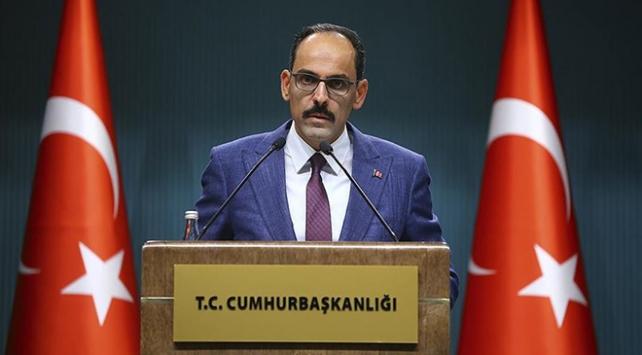 Cumhurbaşkanlığı Sözcüsü Kalın: Türkiye ne Batıdan ne de dünyanın başka bir yerinden uzaklaşıyor