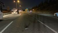 Tuzla'da tırın çarptığı yaya hayatını kaybetti