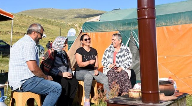 Erciyes yaz turizminin de gözdesi oldu