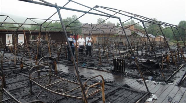 Rusyada çocuk kampında yangın: 4 ölü