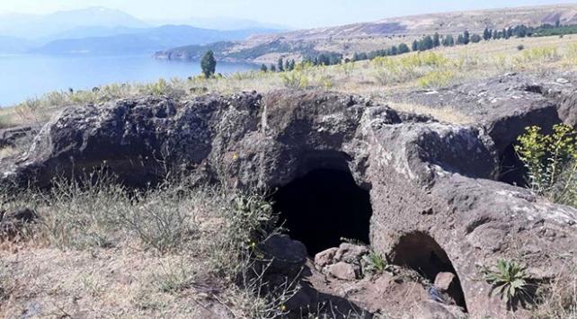 Tatvan Antik Kentinde bina kalıntıları bulundu