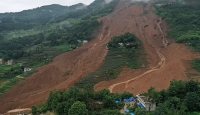 Çin'de heyelan: 11 ölü
