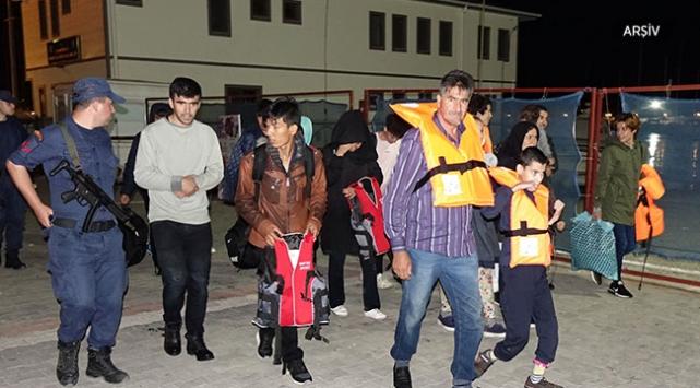 Çanakkalede 50 göçmen yakalandı