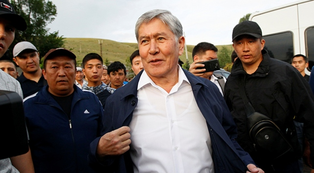 Kırgızistanın eski Cumhurbaşkanı Atambayev ülkeden ayrıldı