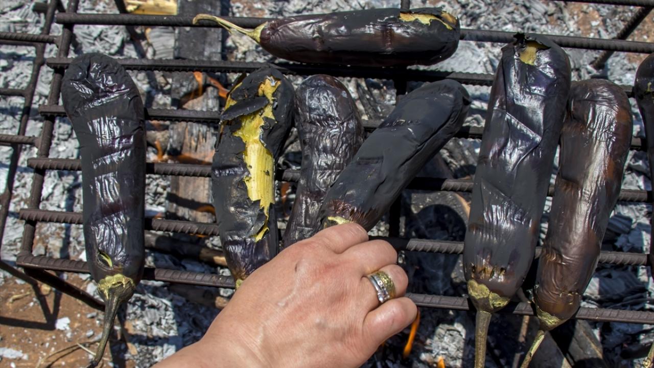 """Diyarbakırda mangal ateşleri """"babaganuç"""" için yanmaya başladı"""