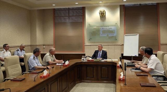 Milli Savunma Bakanlığında kritik güvenli bölge toplantısı