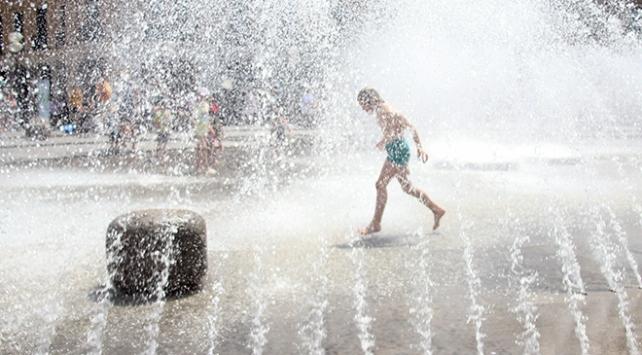 Almanyada son 70 yılın sıcaklık rekoru kırıldı