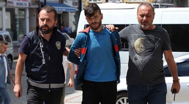Rizede genç kızı darbeden kişi tutuklandı