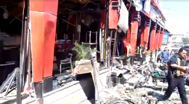 Afrinde patlama: 1 ölü, 16 yaralı