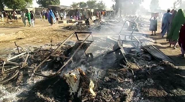 Nijeryadaki terör saldırısında ölenlerin sayısı 60a yükseldi