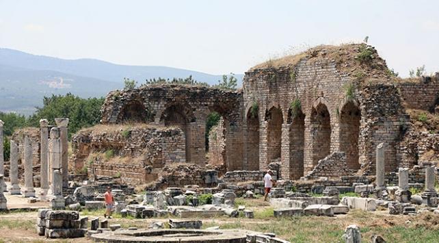 Afrodisyas Antik Kentinde hedef 300 bin ziyaretçi