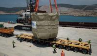Akkuyu Nükleer Güç Santrali'nin ilk büyük boyutlu ekipmanı geldi