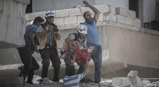 Esed ve destekçileri İdlibi vurmaya devam ediyor: 7 ölü