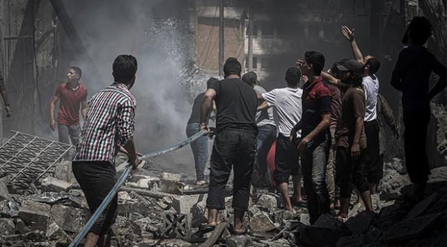 İdlibdeki hava saldırılarında ölenlerin sayısı 15e yükseldi