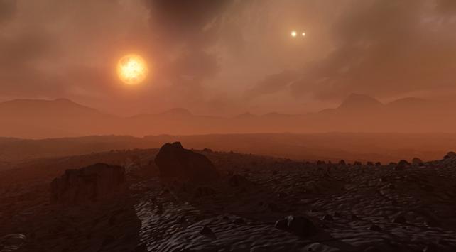 Gökyüzünde üç Güneşi olan gezegen keşfedildi