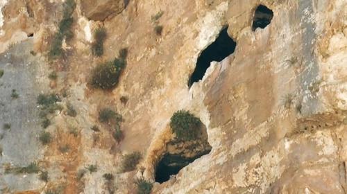 Adıyaman'da bin 800 yıllık 3 katlı mağaralara ulaşıldı